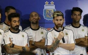 Lionel Messi bans himself and teammates from talking to media after allegations that his teammate smoked marijuana
